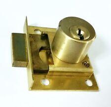 CCL Pin Tumbler Half Mortise Keyed Alike Lock Deadbolt Drawer Locksmith