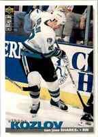 1995-96 collectors' choice Viktor Kozlov #252