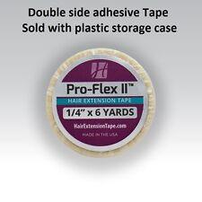 Pro Flex II Tape 1/4 X 6 yrd Roll tape with plastic case By Walker Tape Co.
