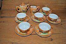 Ancien service à café de dînette de poupée - Old coffee service for doll