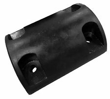 Herco T-45 Solid Molded Rubber Trailer Bumper (8 x 6 x 3 in)