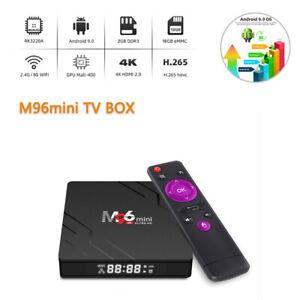 Android 9.0 TV BOX 2GB RAM/16GB ROM Support WiFi 4K HDMI Smart Media Streamers