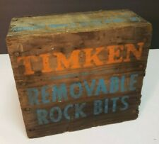 Nos 50 Timken Removable Rock Bits H 1 12 Sh In Original Box Drilling Mining