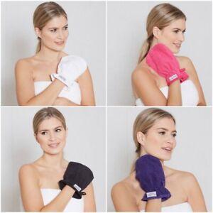 5 x Premium Wash Mitts Face Cloth 500 GSM Wash Glove 100% Cotton Facial Mitt