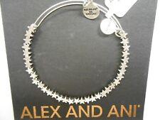 Alex and Ani STAR Beaded Bracelet Rafaelian Silver New Tag Box Card