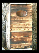 Northern Saw-Whet-OWL.BY.HOLLEY.Nesting Box.House/ BUILT BY U.S.A. VETERANS ONLY