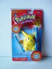 A792 pokemon yellow pikachu kids child light up cheeks toothbrush ages 4+