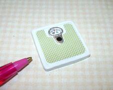 Miniature Resin Bathroom Scale, High Detail: DOLLHOUSE Miniatures 1:12 Scale