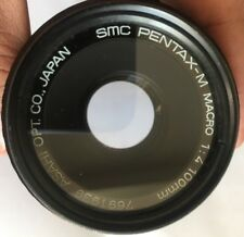 SMC Pentax M 100mm f4 macro dental version— Near Mint for Pentax or mirror less