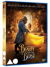Beauty and The Beast Live Action Disney Dvd With O Ring Sleeve New & Sealed