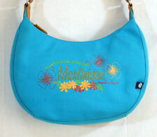 Relic Hobo Handbag Purse Turquoise Painted Martinique Souvenir New With Tags