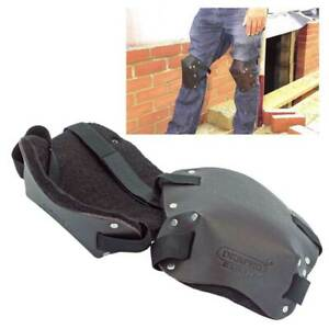 Draper Expert Quality Leather Knee Pads for Gardeners Builders Flooring Layers