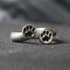 Paw Print Ring - Dog Paw - Cat Paw - Pewter Jewelry
