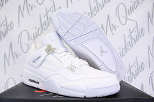 AIR JORDAN 4 IV RETRO SZ 11 PURE MONEY WHITE METALLIC SILVER 308497 100