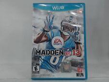MADDEN NFL 13 WII U COMPLETE IN BOX W  MANUAL CIB VERY GOOD f8844d30c2a62