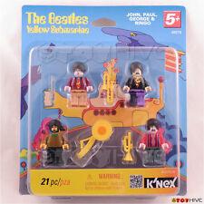 Beatles 2012 Knex K'nex Yellow Submarine John, Paul, George and Ringo figure set