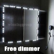 SPECCHIO LED Luce Per Hollywood per trucco Specchio Vanità Specchio Luci Con Dimmer.