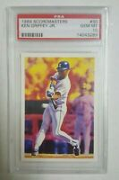 1989 Scoremasters KEN GRIFFEY JR. PSA 10 GEM Mint card SEATTLE MARINERS #30