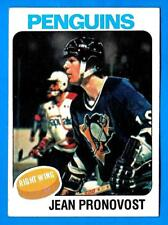 1975-76 Topps JEAN PRONOVOST (ex-) Pittsburgh Penguins