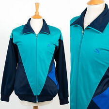 PUMA VINTAGE 80'S / 90'S TRACKSUIT TOP JOG JACKET PANEL BLOCK COLOUR RETRO XL