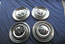 "Vintage 1953 Buick HUB CAPS HUB CAP 15"" Very Good Condition Set Of 4"