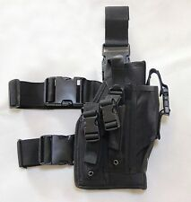 New Airsoft MK23 USP Tactical Dropleg Pistol Holster Black