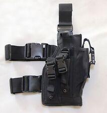 New Airsoft MK23 USP Tactical Dropleg Pistol Holster Black