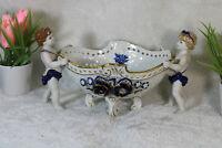 Vintage German Schierholz sax porcelain Cherub planter jardiniere marked