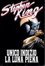 UNICO INDIZIO LA LUNA PIENA Stephen King - CDE illustrato 1993 RARO COME NUOVO