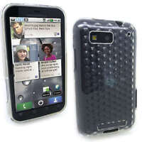 Clear Jelly Case Cover Gel for Motorola Defy MB525 + SP