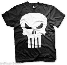 PUNISHER Skull MARVEL  T-Shirt  camiseta cotton officially licensed