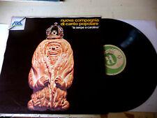 """NUOVA COMPAGNIA CANTO POPOLARE""""LA SERPE A CAROLINA-disco 33 giri RICOR It 1972"""""""