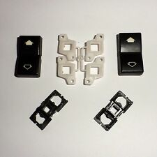 BMW E39 E38 2 Buttons for lifter switch Front Left Drivers
