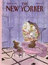New Yorker COVER 04/24/1989  MouseHole STEVENSON