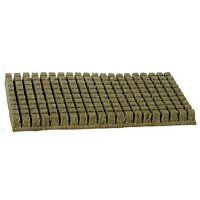 "Grodan 1"" x 1 inch 200 Count Sheet Rockwool Stonewool Grow Media starter cubes"