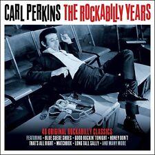 Carl Perkins ROCKABILLY YEARS Best Of 40 Songs ESSENTIAL Music NEW SEALED 2 CD