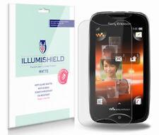 iLLumiShield Anti-Glare Matte Screen Protector 3x for Sony Ericsson Mix Walkman