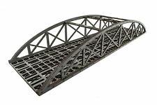 WWS Double Track Hi-Detail Grey MDF Bowstring Bridge 450mm – OO/HO Model Railway