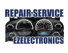 "2007 TO 2014 GM GMC CHEVY TRUCK INSTRUMENT CLUSTER REPAIR SERVICE ""DISPLAY"""