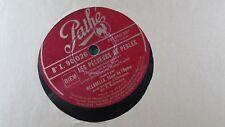 ancien disque vinyle 78 t tours pathé les pecheurs de perles