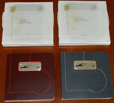 2~Lincoln LS Advertising Brochure Booklets Hardboard Books 1999