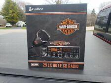 NEW LIMITED EDITION Harley Davidson Cobra 29 LX HD LE CB RADIO