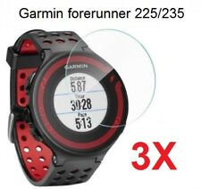 3X 9H Tempered Glass Screen Protector For Garmin Forerunner 225 230 235 620 630
