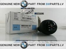 NEW GENUINE BMW 5 SPEED M GEAR SHIFT STICK KNOB LEATHER BLACK E36 E39 E46 3 5 Z3