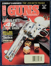 Magazine *GUNS* July, 1998 The Six of Diamonds: A Gambler's PISTOL (Janis COLT)