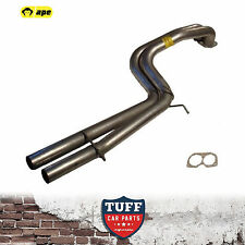 "BA Ford Falcon XR6 Turbo Sedan Twin 2.5"" Straight Through Rear Exhaust Tailpipes"