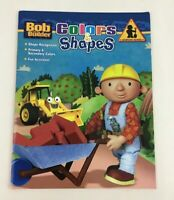 Bob the Builder Colors and Shapes Learning Series Activity Book 2008 Hit