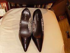 size 9 black patient style stiletto shoes