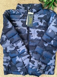 Polo Ralph Lauren Kids Packable Jacket Camo BOYS 8-16 YEARS) S M L