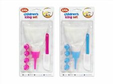 """We Can Cook"" Children's Icing Set with 4 Nozzles Cake Decorating by Royle Kids"